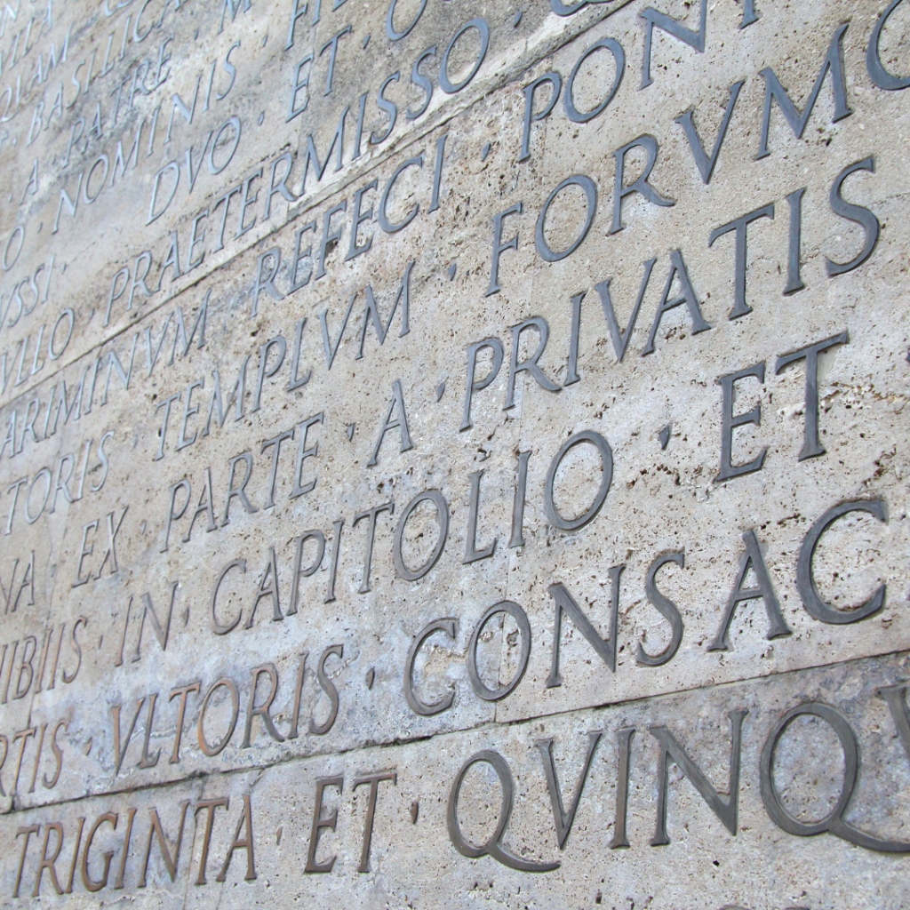 Latin a foundation of the French language